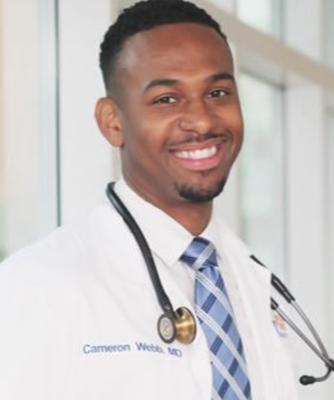 Dr. Cameron Webb, MD, JD